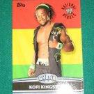 KOFI KINGSTON 2010 Topps WWE National Heroes #NH17