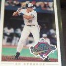 1993 O-Pee-Chee World Series Heroes Ed Sprague