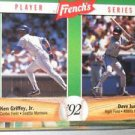 Ken Griffey Jr & Dave Justice 1992 French's