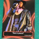 UNDERTAKER - 2011 Topps WWE Catchy Phrases #1
