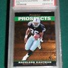 1995 SP Napoleon Kaufman Rookie Card PSA 8