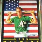Mark McGwire 1991 Fleer Pro-Visions