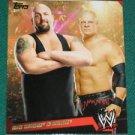 BIG SHOW & KANE - 2011 Topps WWE Prestigious Pairings #1