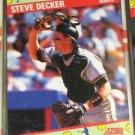 1991 Score All-Star Fanfest Steve Decker