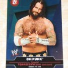 CM PUNK - 2010 Topps WWE Topps Town #TT18