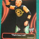 CHRISTIAN - 2011 Topps WWE Catchy Phrases #1