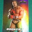 BOOKER T 2011 Topps WWE CHAMPIONS Wrestling FOIL INSERT
