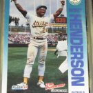 1992 Fleer Citgo The Performer Rickey Henderson