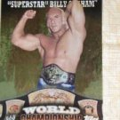 SUPERSTAR BILLY GRAHAM - 2010 Topps WWE World Championship PUZZLE BACK