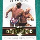 STEVE AUSTIN - 2012 Topps WWE First Class Champions #7