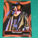 UNDERTAKER - 2011 Topps WWE Catchy Phrases #4