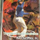 Ken Griffey Jr 1998 Fleer Tradition Unforgettable Moments