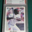 1990 Leaf Albert Belle Rookie Card PSA 8