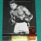 Muhammad Ali - 2011 Leaf Metal 70th Birthday Commemorative SP - Card #62