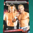 EDGE & CHRISTIAN - 2011 Topps WWE Prestigious Pairings #10