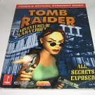 Tomb Raider 3 Adventures of Lara Croft Playstation Prima's Official Strategy Gui