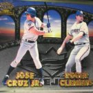 Roger Clemens 1998 Pacific Invincible Team Checklist Jose Cruz Jr
