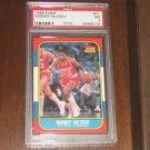 1986-87 Fleer Rodney McCray Rookie Card - PSA 7