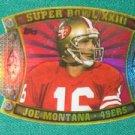 2011 Topps Super Bowl Legends Giveaway Die Cut Joe Montana XXIII