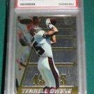 1996 Bowman's Best Terrell Owens Rookie Card PSA 8