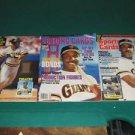 Barry Bonds Beckett & More Baseball Magazine Collection Lot of 3