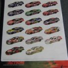2004 Action 1/24 Diecast Race Car Large Store Promo Poster