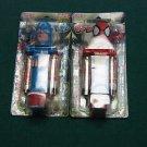 2 - Klik Spiderman & Captian America Candy Dispenser New Sealed in Pack NIP