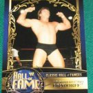 "PAUL ORNDORFF - 2012 Topps WWE Classis Hall of Famers #15 ""MR WONDERFUL"""
