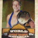 JACK SWAGGER - 2010 Topps WWE World Championship PUZZLE BACK