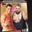 ALBERTO DEL RIO & BRODUS CLAY - 2011 Topps WWE Prestigious Pairings #5