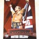 BRITISH BULLDOG DAVEY BOY SMITH - 2010 Topps WWE Championship Material #C50