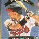 1992 Donruss Diamond Kings David Justice
