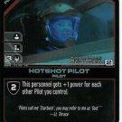 Battlestar Galactica CCG Starbuck / Hotshot Pilot - BSG-11/12 LE FOIL
