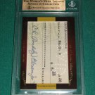 ANGIE DICKINSON & BUDDY EBSEN - 2011 Leaf Cut Signature Edition Autograph #3of 3