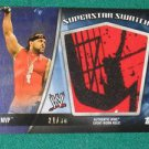 MVP - 2010 Topps WWE Superstar SUPER Swatch SHIRT Relic PATCH #21 of 30 made