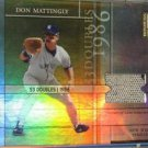 2003 Elite All-Time Career Best Materials Parallel Don Mattingly Hat #/53 jersey