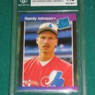 2001 Donruss Anniversary Originals Buyback Randy Johnson RC BGS Graded from pack