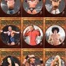 2009 Topps WWE Wrestling RING OF HONOR SET 1-10 - Shawn Michaels Triple H Cena