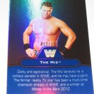THE MIZ & MICHAEL PS HAYES - 2010 Topps WWE Platinum Legendary Superstars BLUE