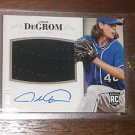 2014  National Treasures Rookie Material Autograph Purple Jacob DeGrom #/49