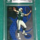 2000 E-X Essential Credentials Chad Pennington RC BGS 8.5 -#12/25 (with 9.5)