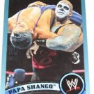 PAPA SHANGO - 2011 Topps WWE Blue #104 - #1720 of 2011 made