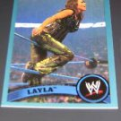 LAYLA - 2011 Topps WWE Blue #58 - #0596 of 2011 made