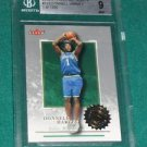 2000-01 Fleer Authority Donnell Harvey Rookie Card BGS 9 (with 2- 9.5)