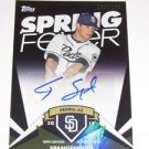 2015 Topps Spring Fever Autograph Cory Spangenberg #130/199