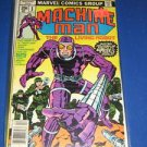 Machine Man (1978 - 1st Series) #1- Marvel Comics - Jack Kirby