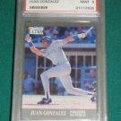 1991 Ultra Update Juan Gonzalez Rookie Card PSA 9