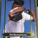 1992 Leaf Gold Leaf Rookies Pat Mahomes Rookie Card
