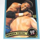 DARREN YOUNG - 2011 Topps WWE Blue #83 - #0987 of 2011 made