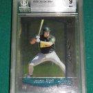 2000 Bowman Chrome Jason Hart Rookie Card BGS 9 - psa